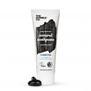 Natūrali dantų pasta su anglimi